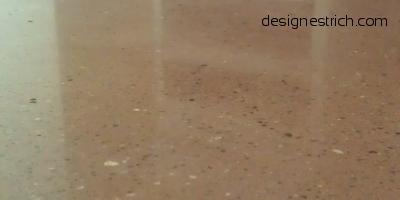 geschliffener Designestrich- CemFlow-Designfloor