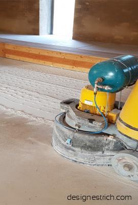 Schleifen Beton, Aufarbeiten bestehender Böden
