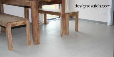 geschliffener Estrich CemFlow-Designfloor