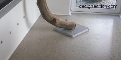 Designestrich, Sichtestrich, geschliffener Estrich, Designboden, CemFlow-Designfloor